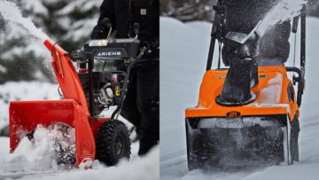Snow Blowers vs Snow Throwers