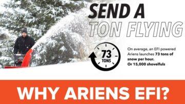 Ariens Deluxe 30 EFI Snow Blower
