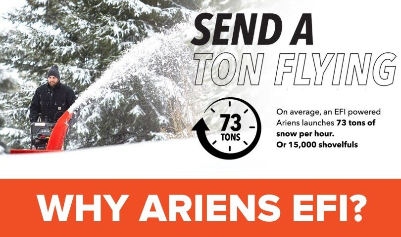 Ariens Deluxe 30 EFI Snow Blower